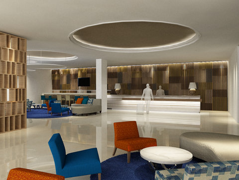 Hotel Lobby of Holiday Inn Express Jakarta Cikini