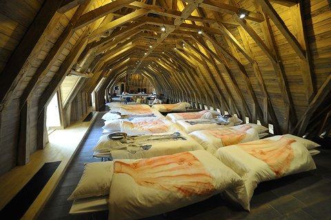 Sweet dreams in the attics playroom of the chateau