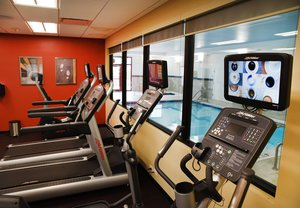 Fitness/ Exercise Room - TownePlace Suites by Marriott Downtown Lawrence