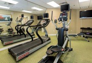 Fitness/ Exercise Room - Residence Inn by Marriott Monroe