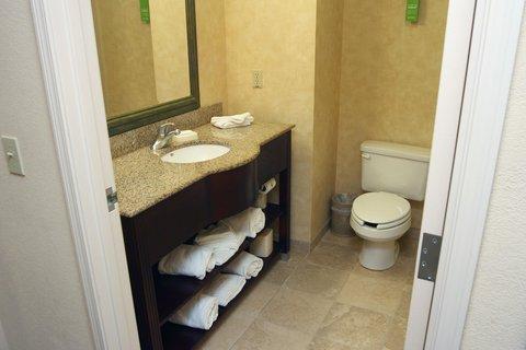Queen Guestroom Bathroom