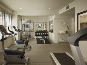 Fitness/ Exercise Room - AKA Hotel Rittenhouse Square Philadelphia