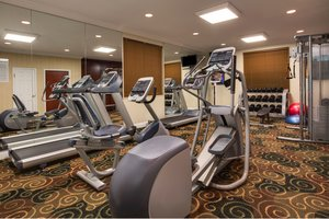 Fitness/ Exercise Room - Holiday Inn Express Harvey