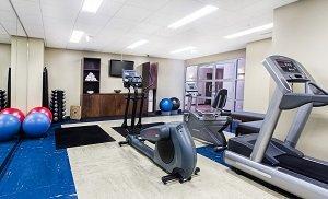 Fitness/ Exercise Room - Metterra Hotel Edmonton
