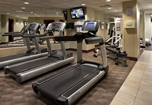 Fitness/ Exercise Room - Delta Hotel by Marriott Airport Calgary