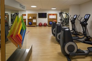 Fitness/ Exercise Room - Sheraton Hotel Red Deer
