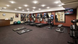Fitness/ Exercise Room - TownePlace Suites by Marriott Red Deer