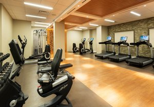 Fitness/ Exercise Room - Marriott Hotel Boulder