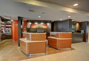 Lobby - Courtyard by Marriott Hotel Airport Lafayette