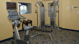 Fitness/ Exercise Room - Holiday Inn Express Hotel & Suites Edson