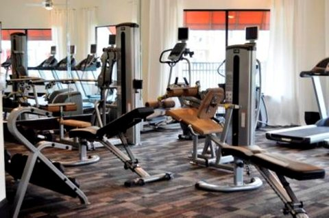 Jacksonville Furnished Apartment Fitness Center