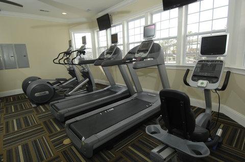 Hampton Furnsihed Apartment Fitness Center