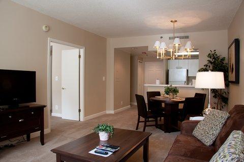 Washington Furnished Apartment Living Area