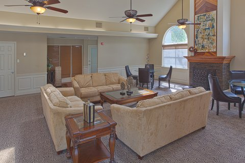 River Ridge Furnished Apartment Commons Area