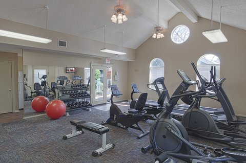 River Ridge Furnished Apartment Fitness Center