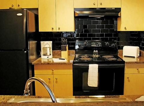 Orlando Furnished Apartment Kitchen