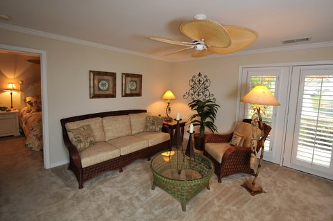 Virginia Beach Furnished Apartment Living Room