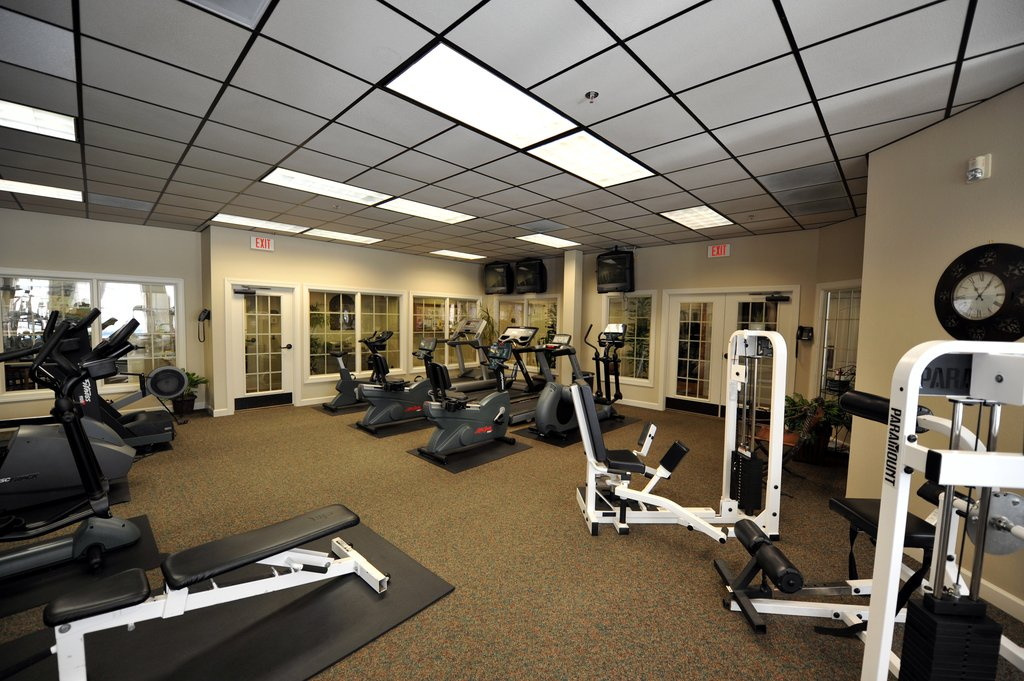 Charlottesville Furnished Apartment Fitness Center