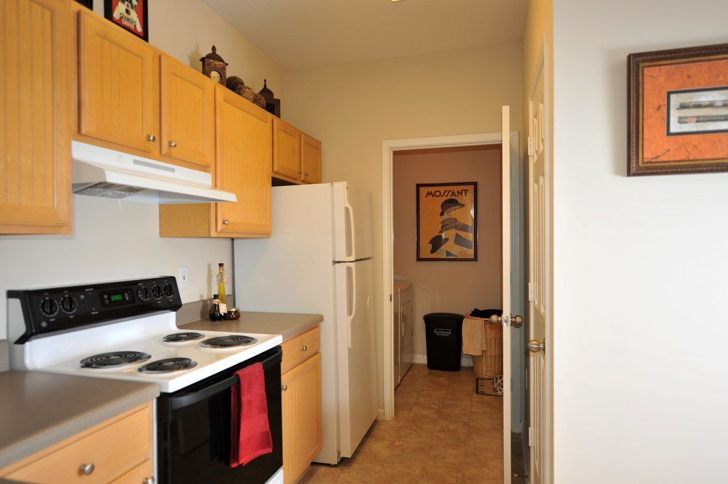 Richmond Model Kitchen And Laundry Room