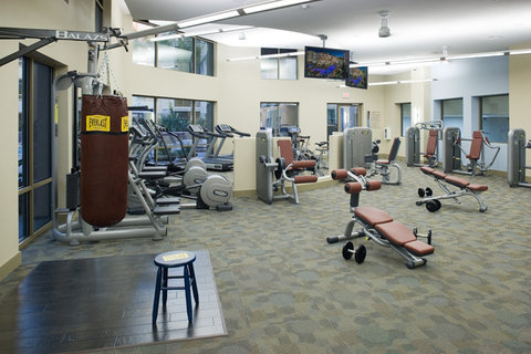 Woodland Hills Furnished Apartment Fitness Center