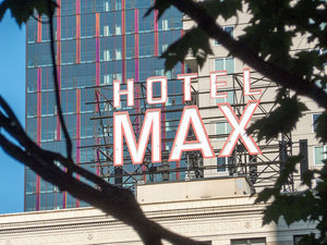 Exterior view - Hotel Max Seattle
