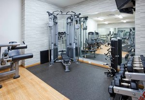 Fitness/ Exercise Room - Courtyard by Marriott Hotel Maple Grove