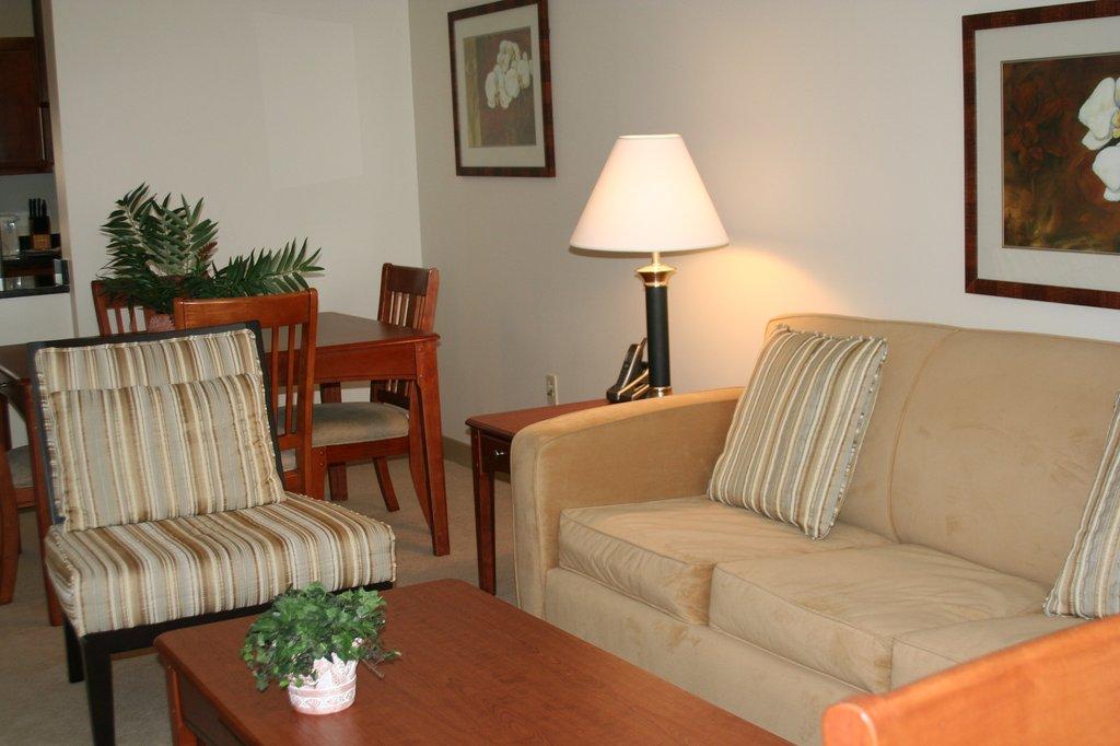Hartford Furnished Apartment Living Room