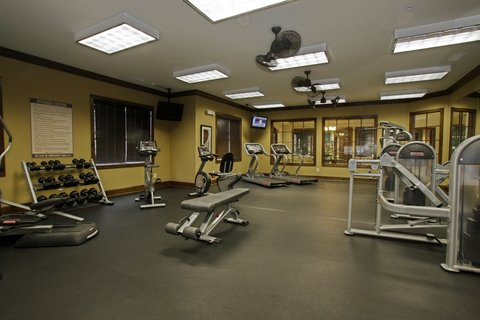Charlotte Furnished Apartment Fitness Center