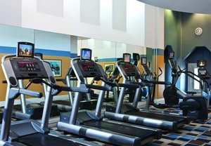 Fitness/ Exercise Room - Marriott Vacation Club Custom House Hotel Boston