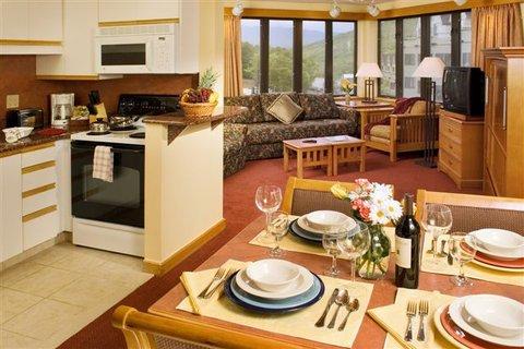 Studio Kitchen Living Area