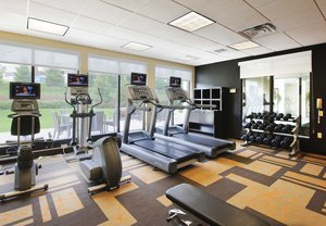 Fitness/ Exercise Room - Courtyard by Marriott Hotel Ewing