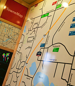 Map - TownePlace Suites by Marriott Eagan