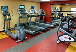 Fitness/ Exercise Room - Courtyard by Marriott Hotel Red Bank