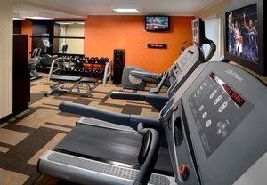 Fitness/ Exercise Room - Courtyard by Marriott Hotel Danvers