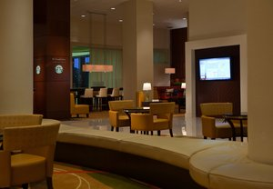 Lobby - Marriott Hotel BWI Airport Linthicum