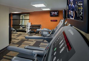 Fitness/ Exercise Room - Courtyard by Marriott Hotel Woburn