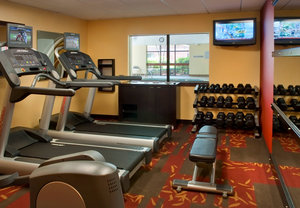 Fitness/ Exercise Room - Courtyard by Marriott Hotel Stoughton