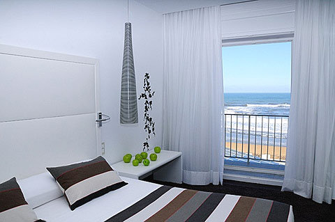 Guest room with sea view