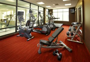 Fitness/ Exercise Room - Courtyard by Marriott Hotel Washington