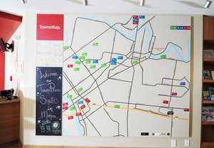 Map - TownePlace Suites by Marriott Monroe