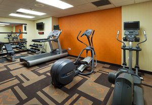 Fitness/ Exercise Room - Courtyard by Marriott Hotel Louisville