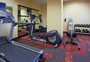 Fitness/ Exercise Room - Courtyard by Marriott Hotel Rochester