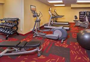 Fitness/ Exercise Room - Courtyard by Marriott Hotel Secaucus