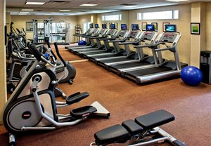 Fitness/ Exercise Room - Courtyard by Marriott Hotel Basking Ridge