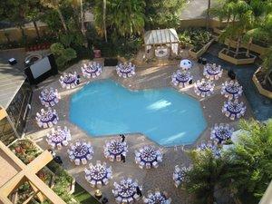 Pool - Marriott Hotel LGB Airport Long Beach