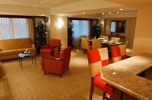 Lobby - Marriott Hotel LGB Airport Long Beach