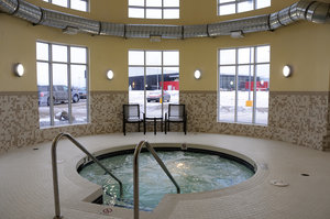 Pool - Holiday Inn Express Hotel & Suites Bonnyville