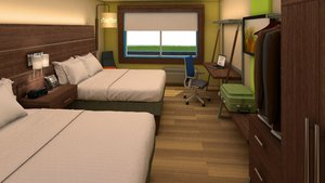 Room - Holiday Inn Express Fullerton