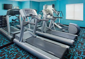 Fitness/ Exercise Room - Fairfield Inn & Suites by Marriott South Lafayette