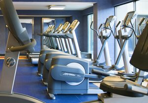 Fitness/ Exercise Room - Radisson Hotel Downtown Inner Harbor Baltimore